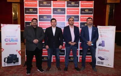 موبائل اسیسیریز برانڈ Riversong کا Yellostone کے اشتراک سے پاکستان میں باقاعدہ لانچ