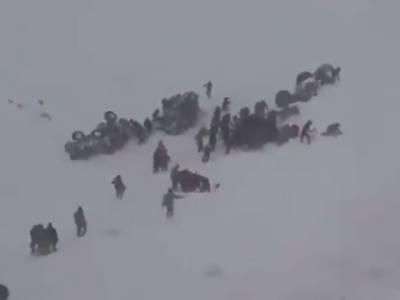 ترکی میں برفانی تودہ گرنے سے ریسکیو اہلکاروں سمیت 33افراد ہلاک