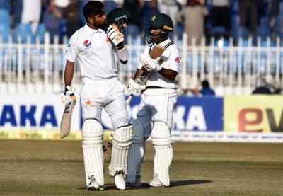 راولپنڈی ٹیسٹ، بابراعظم اور شان مسعود کی عمدہ سنچریاں، قومی ٹیم کے 3 وکٹوں پر 258 رنز، 109 رنز کی برتری حاصل