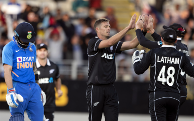 نیوزی لینڈ نے بھارت کو شکست دیدی، سیریز 0-2 سے جیت لی