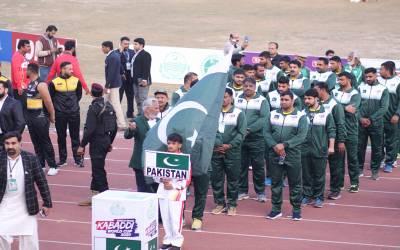 کبڈی ورلڈ کپ کا افتتاحی میچ، پاکستان نے فاتحانہ آغاز کردیا، مد مقابل کو دھول چٹادی