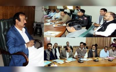 ضلع عمرکوٹ میں 17 فروری سے 21 فروری تک پولیو مہم کے حوالے سے اجلاس