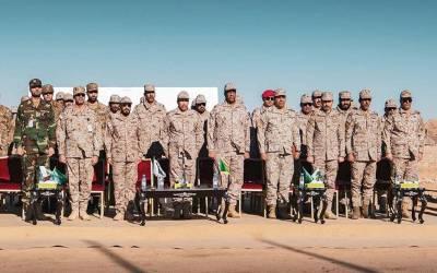 پاکستان اور سعودی عرب کی مشترکہ جنگی مشقیں شروع
