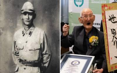 دنیا کے معمر ترین شخص کا اعزاز پانے والے 113 سالہ بزرگ نے لمبی زندگی کا راز بتادیا