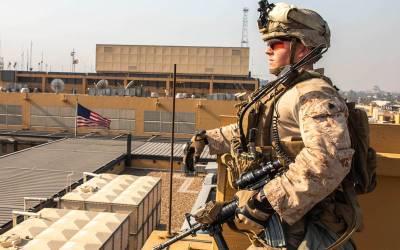 امریکی سفارتخانے کے قریب راکٹوں سے حملہ