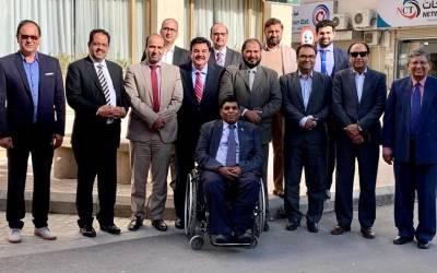 سفارت خانہ پاکستان میں نئے تعینات ہونے والے کمرشل اتاشی اظہار علی داہر کے اعزاز میں پاکستان انویسٹر فورم کی جانب سے ظہرانہ