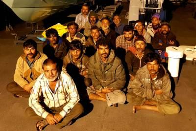 کھلے سمندر میں کارروائی، پاکستان نے 17بھارتیوں کو گرفتار کرلیا