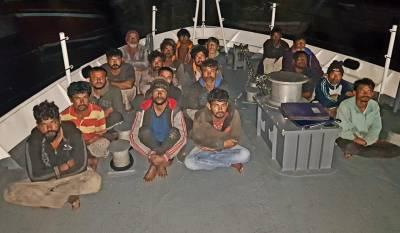 بھارتی ماہی گیروں کی گزشتہ کئی روز سے پاکستانی سمندری حدود کی مسلسل خلاف ورزی جاری، مزید 23 بھارتی گرفتار