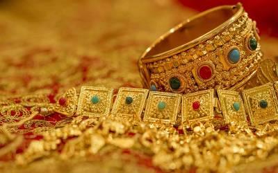 سونا1470 روپے فی تولہ مہنگا،قیمت 94 ہزار 50 روپے ہو گئی