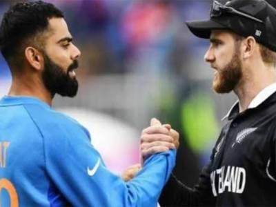 ویلنگٹن ٹیسٹ،نیوزی لینڈ کے باؤلرز بھارتی بلے بازوں پر قہر بن کر ٹوٹ پڑے ،پوری ٹیم اتنے کم سکور پر آؤٹ کہ ورات کوہلی سر پکڑ کر بیٹھ گئے