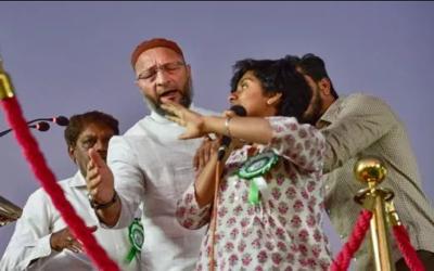 'پاکستان زندہ باد ' کے نعرے لگانے والی لڑکی کے سر پر 10 لاکھ روپے کا انعام رکھ دیا گیا