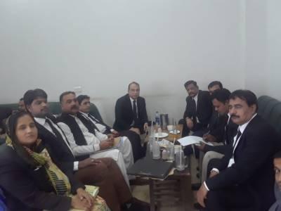پاکستان مسلم لیگ ق میں وکلاء کی شمولیت کا اعلان