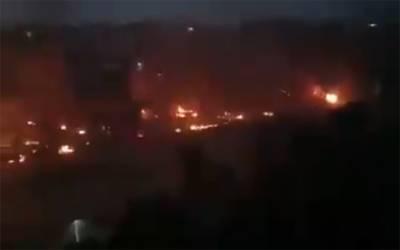 ٹرمپ کا دورہ بھارت، دلی میں ہنگامے پھوٹ پڑے، مسلمانوں کی املاک جلادی گئیں، 4 افراد جان کی بازی ہار گئے