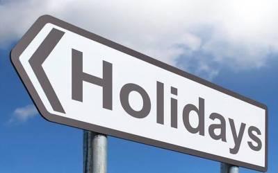 تعلیمی اداروں میں آج سے دوروزہ تعطیلات کااعلان