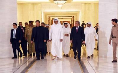 افغان امن عمل کیلئے تمام سٹیک ہولڈرز کو کردار ادا کرنا ہوگا، وزیر اعظم کی امیر قطر سے ملاقات کا اعلامیہ جاری