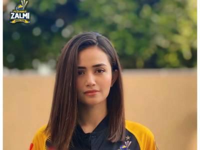 پشاور زلمی نے اداکارہ ثنا جاوید کواہم ذمہ داری سونپ دی
