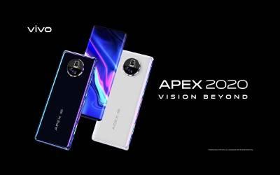 مستقبل کے تخیل سے آراستہ ویوو کا نیا سمارٹ فون APEX 2020 متعارف کروا دیا گیا