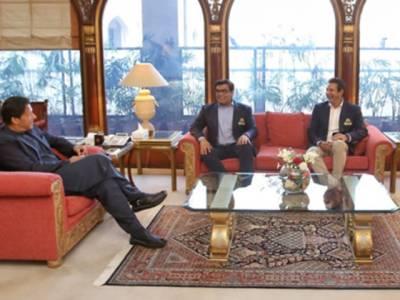 وزیراعظم سے کراچی کنگز کے مالک سلمان اقبال اور ٹیم منیجمنٹ کی ملاقات