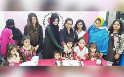 انٹرنیشنل وومن ڈے شارجہ میں منایا گیا، تقریب میں پاکستانی خواتین کی شرکت