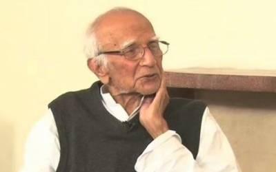 ممتاز دانشور،پیپلز پارٹی کے بانی کارکن اور سابق وزیر خزانہ مبشر حسن انتقال کرگئے