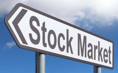 سٹاک مارکیٹ ایک مرتبہ پھر سے اتنی زیادہ گر گئی کہ کاروباری افراد کے اربوں ڈوب گئے ، کاروبار روک دیا گیا