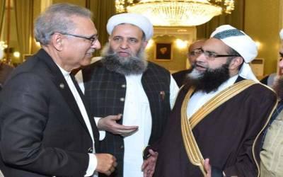 صدر مملکت ڈاکٹر عارف علوی کا چیئرمین پاکستان علماکونسل حافظ محمد طاہر محمود اشرفی سے رابطہ