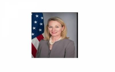 امریکی نائب معاون وزیرخارجہ ایلس ویلز کاڈاکٹر اسامہ ریاض کے انتقال پر اظہارافسوس