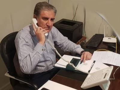 شاہ محمود قریشی کا ترک ہم منصب سے ٹیلیفونک رابطہ، ترکی میں موجود پاکستانیوں کی دیکھ بھال اور جلد وطن واپسی پر تبادلہ خیال