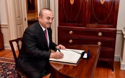 ہم پاکستانیوں کا اپنےشہریوں کی طرح خیال رکھ رہے ہیں،ترک وزیر خارجہ