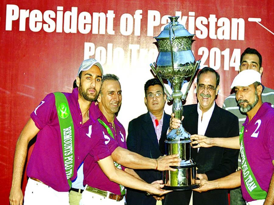 ہنڈا پریزیڈنٹ آف پاکستان پولو ٹرافی 2014 کا کامیاب انعقاد