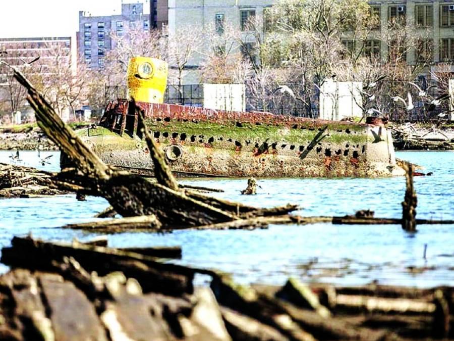 بروک لینڈ: مقامی طورپر بنائی گئی آبدوز دریامیں تیررہی ہے