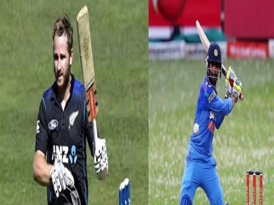 نیوزی لینڈ اور بھارت نے عمدہ کارکردگی سے میچ جیتے