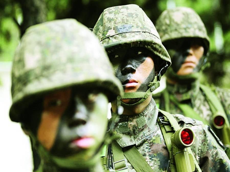 پیانگ یانگ: شمالی کورین فوجی ڈیوٹی پر موجود ہیں