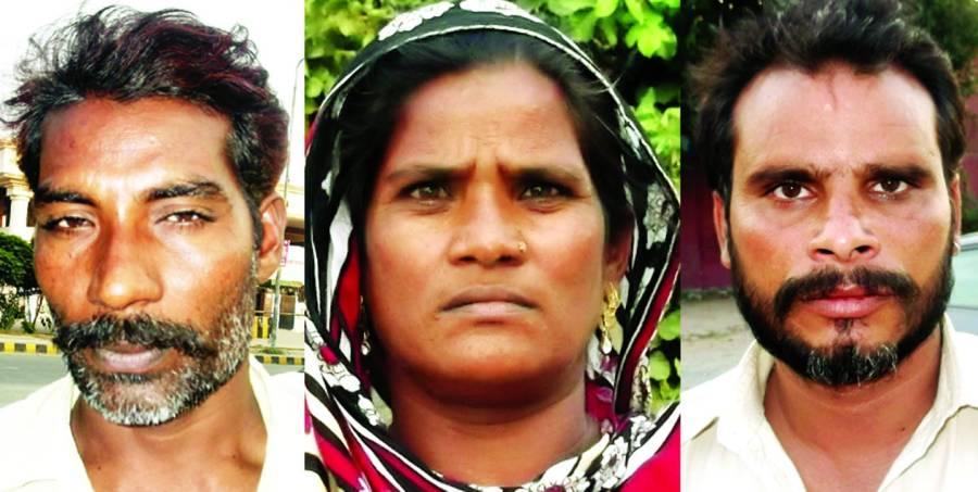 سبزہ زار، محلہ داروں نے خاتون کو 2بچیوں سمیت اغواکر لیا