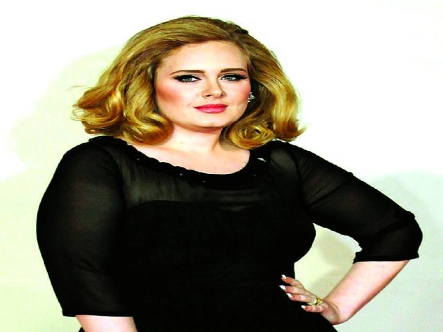 گلوکارہ ایڈلے نے گلوکارہ ٹیلر سوئفٹ کا ریکارڈ توڑ دیا