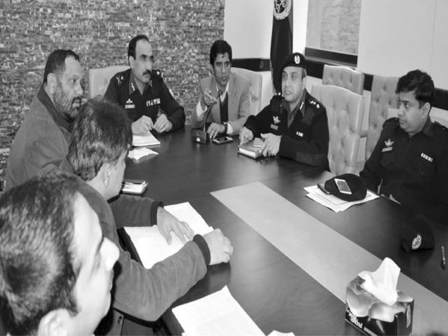 اورنج لائن ٹرین منصوبہ لاہور پولیس ضلعی انتظامیہ سے تعاون کرے گی ،کیپٹن امین وینس