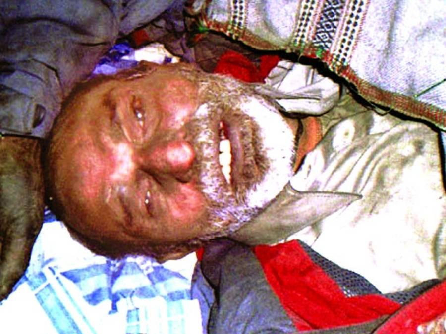 شفیق آباد ، 55سالہ نامعلو م شخص کی لاش بر آمد، مردہ خانہ میں جمع کروا دی گئی
