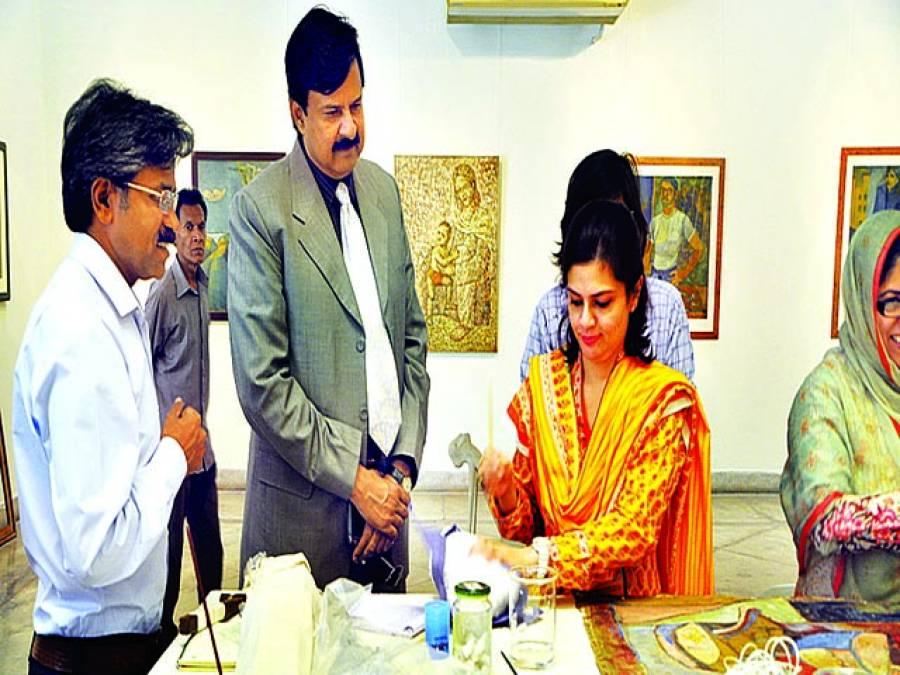 پاکستان میں ''آرٹ کے تحفظ'' کیلئے لاہور آرٹس کونسل کی ورکشاپ اختتام پذیر
