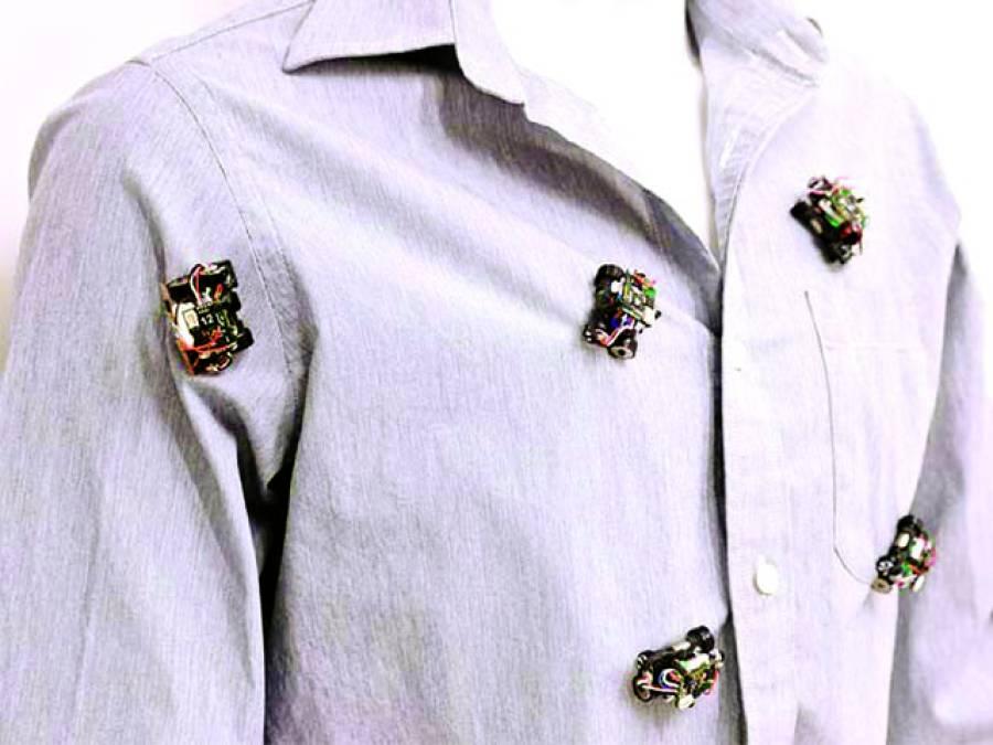 آپ کے لباس کو خوبصورت بنانے والا متحرک روبوٹک زیور