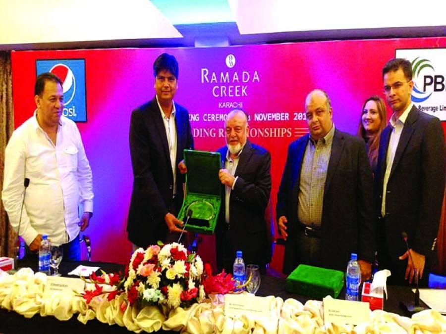 پاکستان بیوریج لمیٹڈ اور رمادا کریک کا سمجھوتے کے معاہدے پر دستخط