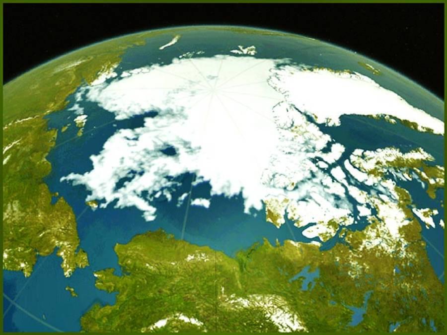قطب شمالی پرسردیوں میں بھی گرمی، درجہ حرارت 36 ڈگری فارن ہائیٹ