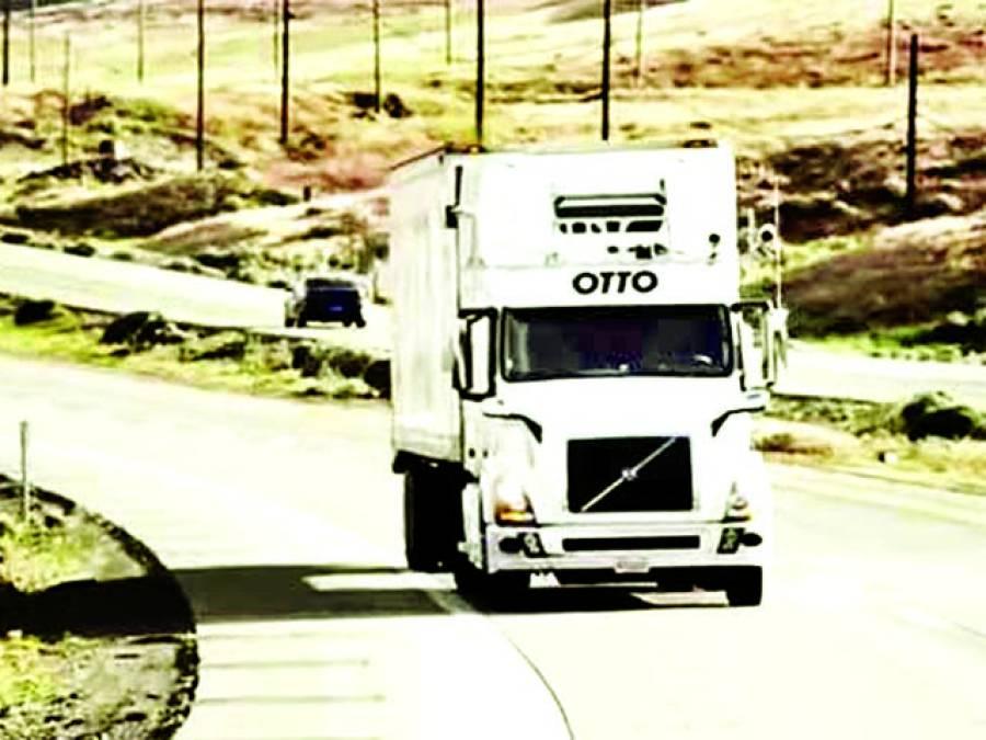 امریکہ میں خودکار ڈرائیونگ ٹرک چلانے کا کامیاب تجربہ