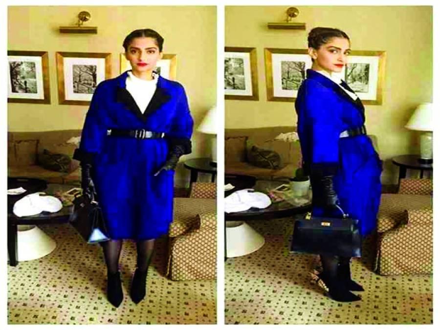 اداکارہ سونم کپور نے آسٹریا میں اپنی تصاویر جاری کردیں