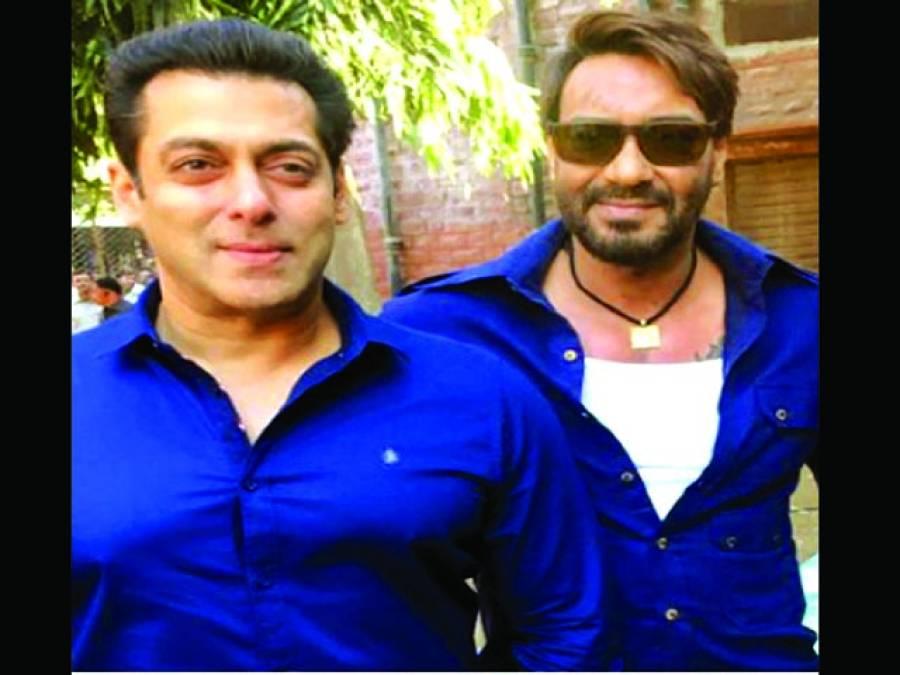 دبنگ خان نے اجے کی ناراضی دورکرنے کیلئے فلم چھوڑدی