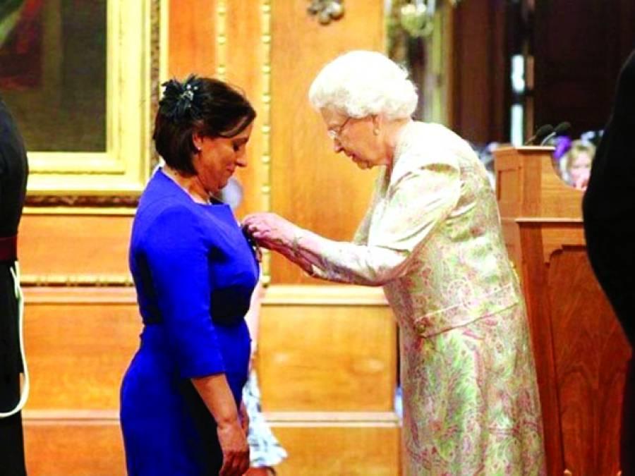 ملکہ سے ایوارڈ وصول کرنیوالی پہلی مسلمان خاتون کا میٹروپولیٹن پولیس کیخلاف مقدمہ