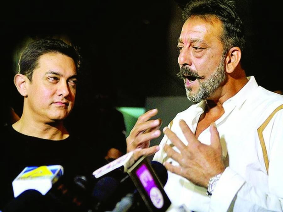 سنجے دت کی فلم کا باکس آفس پرعامر خان کی فلم سے تصادم