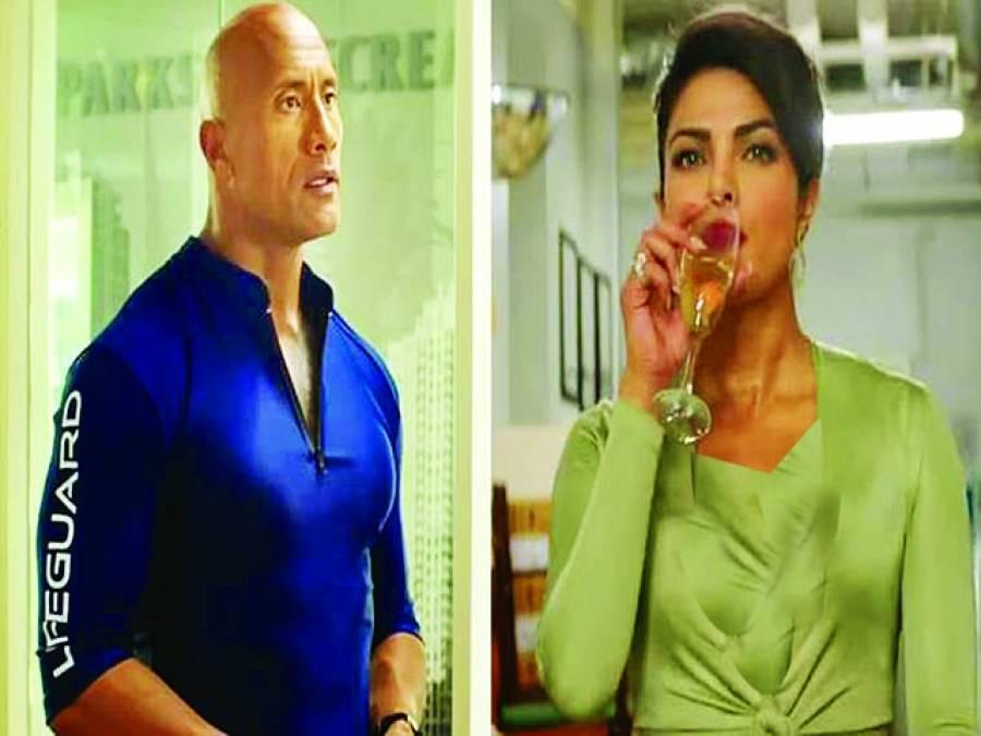 پریانکا کی فلم'بے واچ'کا ٹریلر منظرِ عام پر آگیا