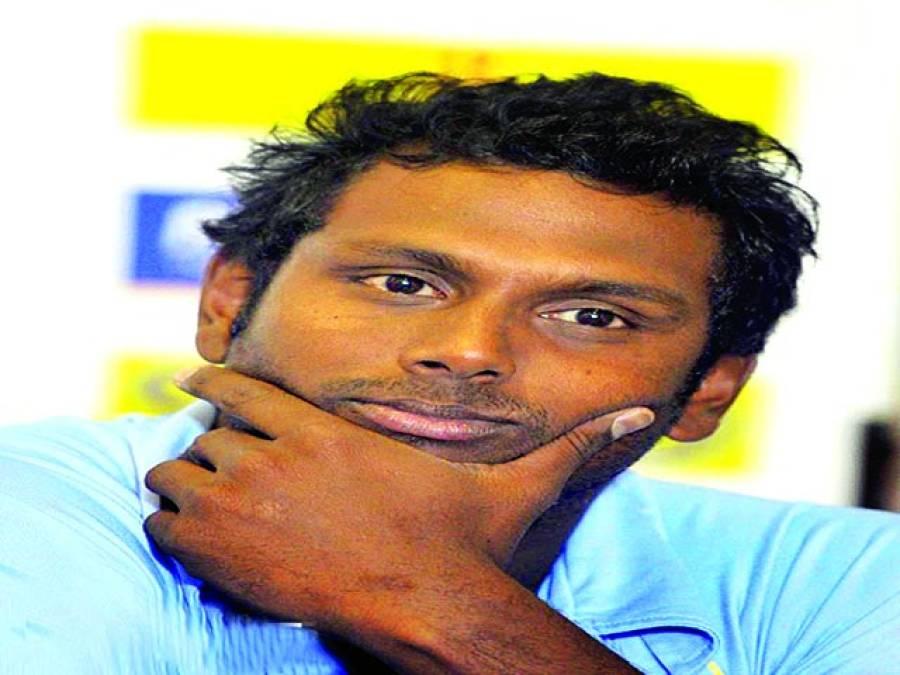 اینجلیو میتھیوز بنگلہ دیش کے خلاف ٹی 20 سیریز سے آؤٹ
