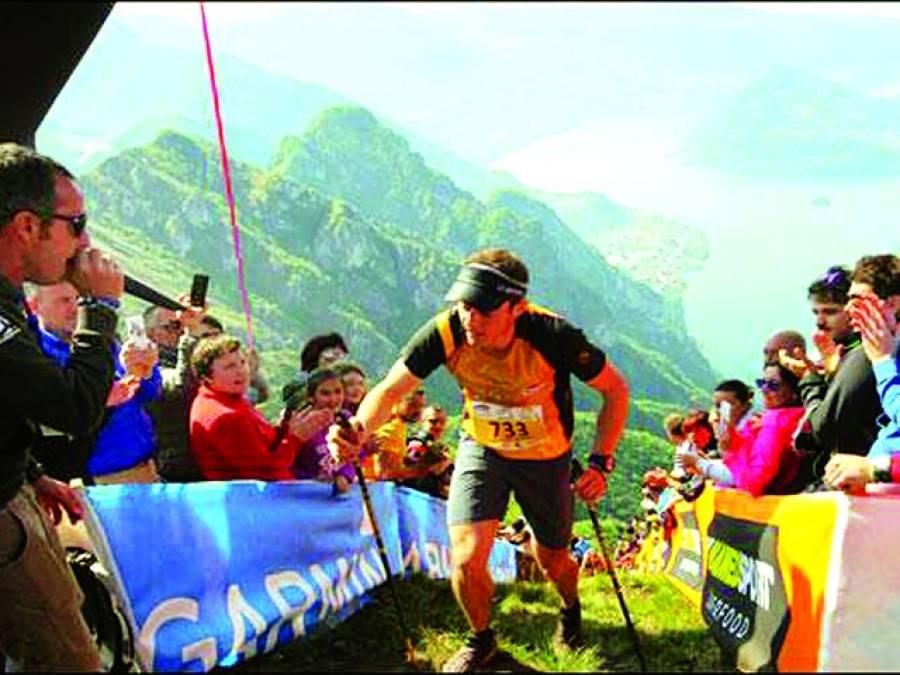 اٹلی میں مشکل ترین ریس، دنیا بھر سے ایتھلیٹس کی آمد