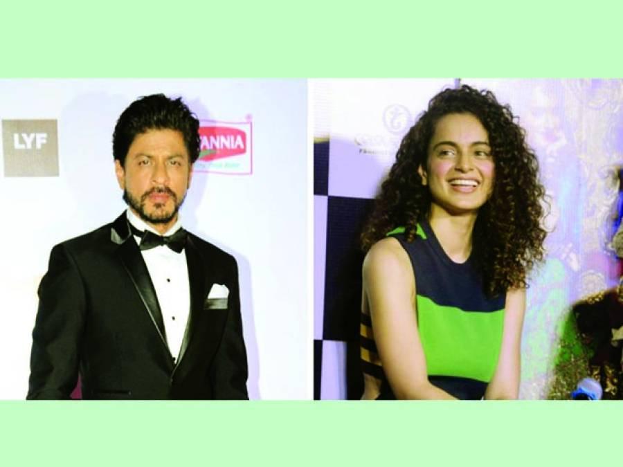 سمرن میں کنگنا رناوت شاہ رخ خان کیساتھ پہلی بار جلوہ گر ہونگی